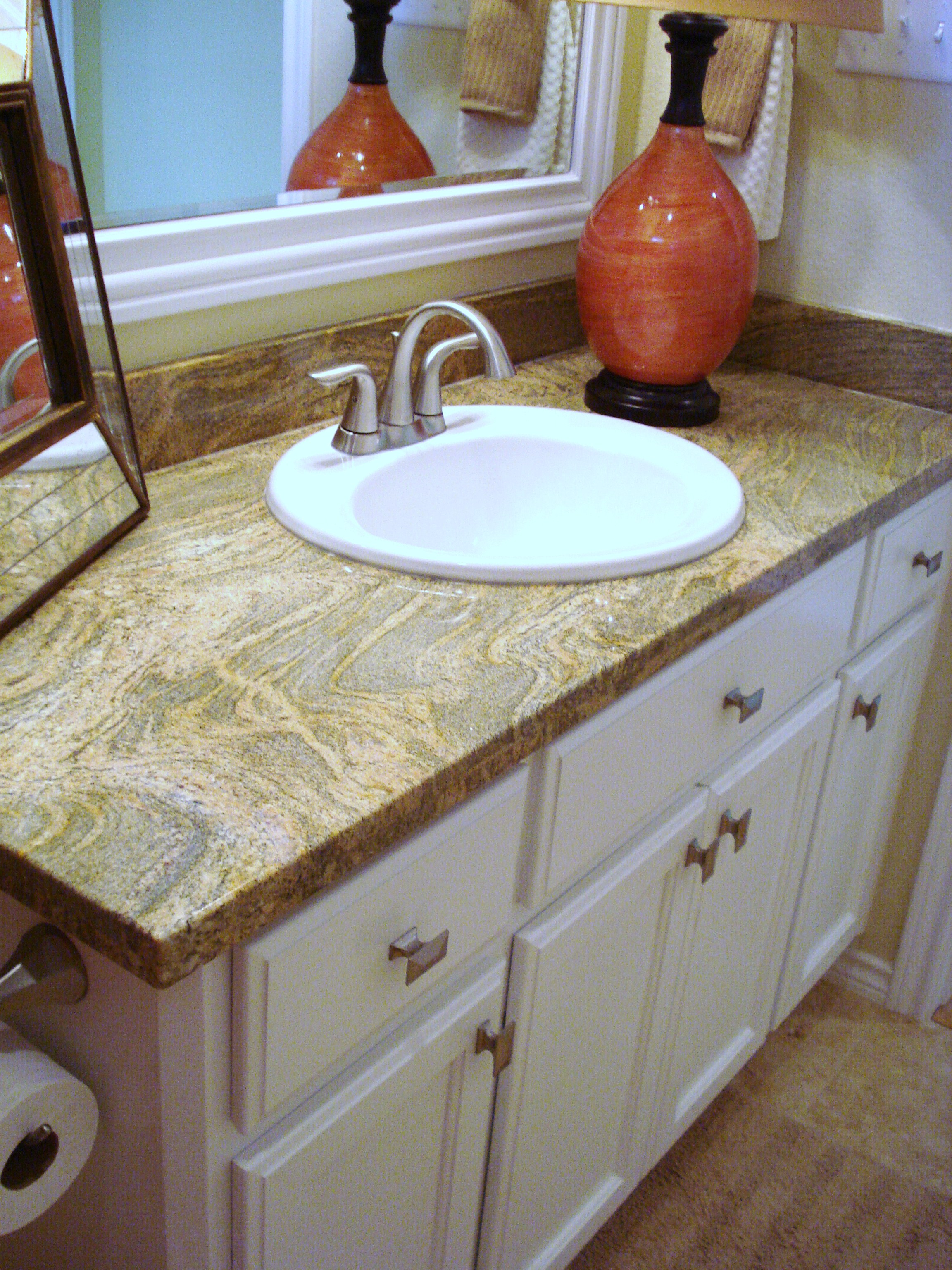 top vanity granite burlywood tops