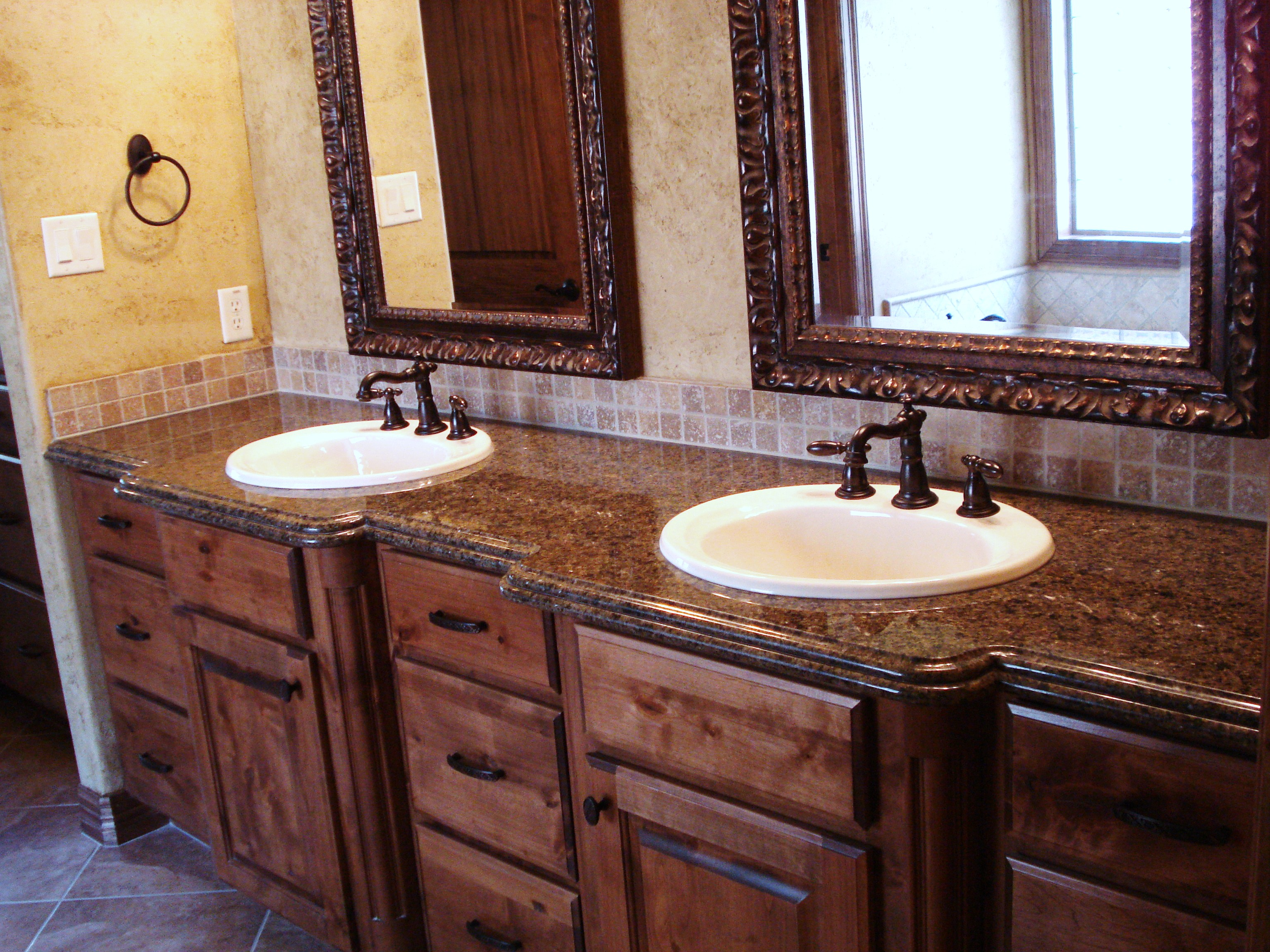 Marble craft bathrooms for Granite bathroom vanity