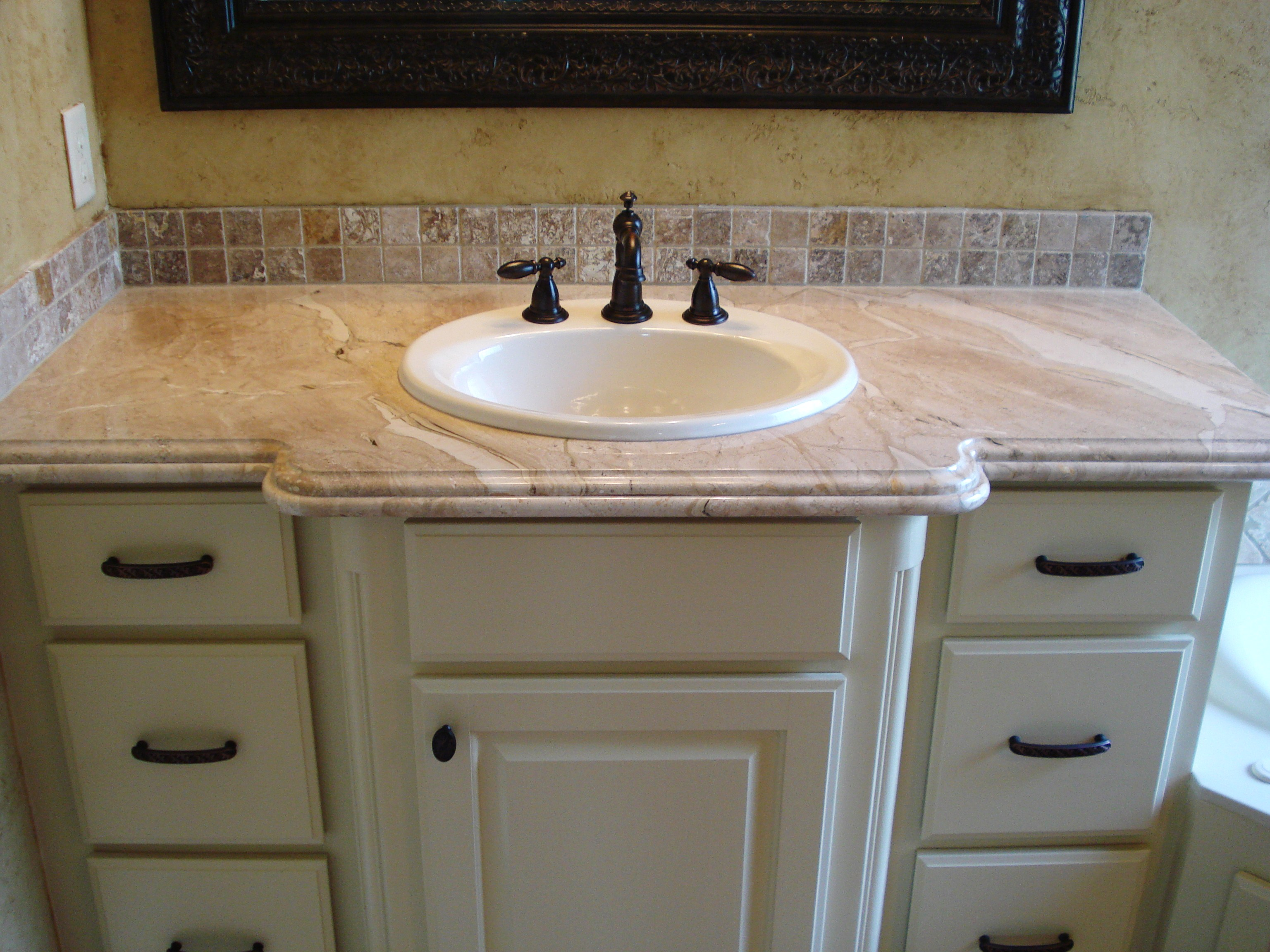 Stone Vanity Tops For Bathrooms : Marble craft bathrooms